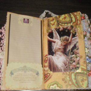Belinda Recycle Art Office - Diary Journal Intime